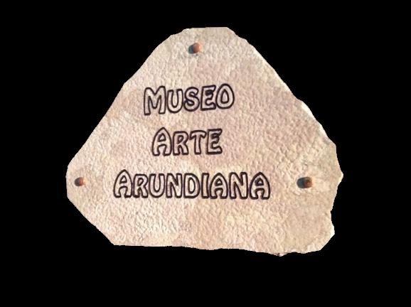 museo arundiano scritta trasparente