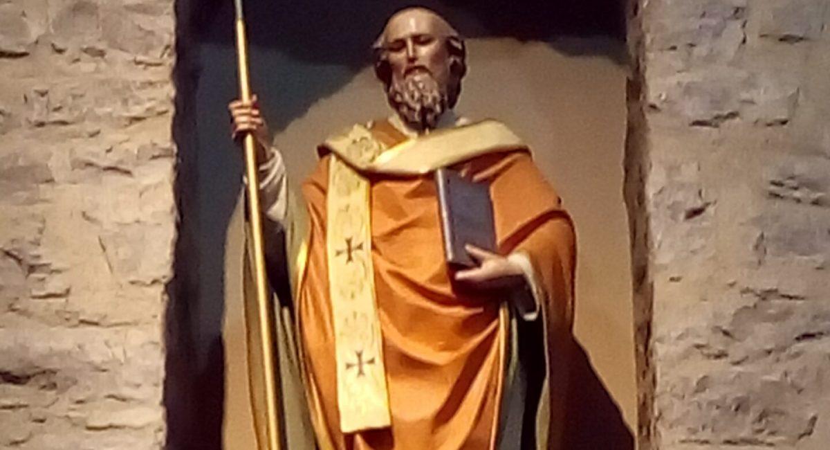 Il patrono Sant'Ilario da Poitiers